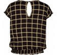 Zoey Bluse - Kendall, Black Mix