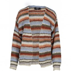 ZOEY PEARL CARDIGAN FARVE MIX