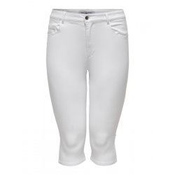 ONLY CARMAKOMA AUGUSTA SKINNY KNICKERS WHITE